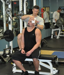 Neck Training - Jim Kielbaso & Kyle Vanden Bosch